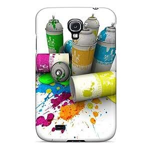 WilliamBain OclACtI8236bWFMM Case Cover Skin For Galaxy S4 (splash)