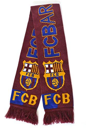 組み合わせる修理工後方FC バルセロナ マフラー ニット FC BARCELONA サッカー スペインリーグ リーガエスパニョーラ バルサ 応援グッズ タオル