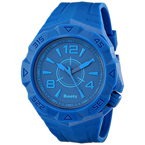 Roots Men's 1R-AT500BU1U Tusk Analog Display Analog Quartz Blue Watch