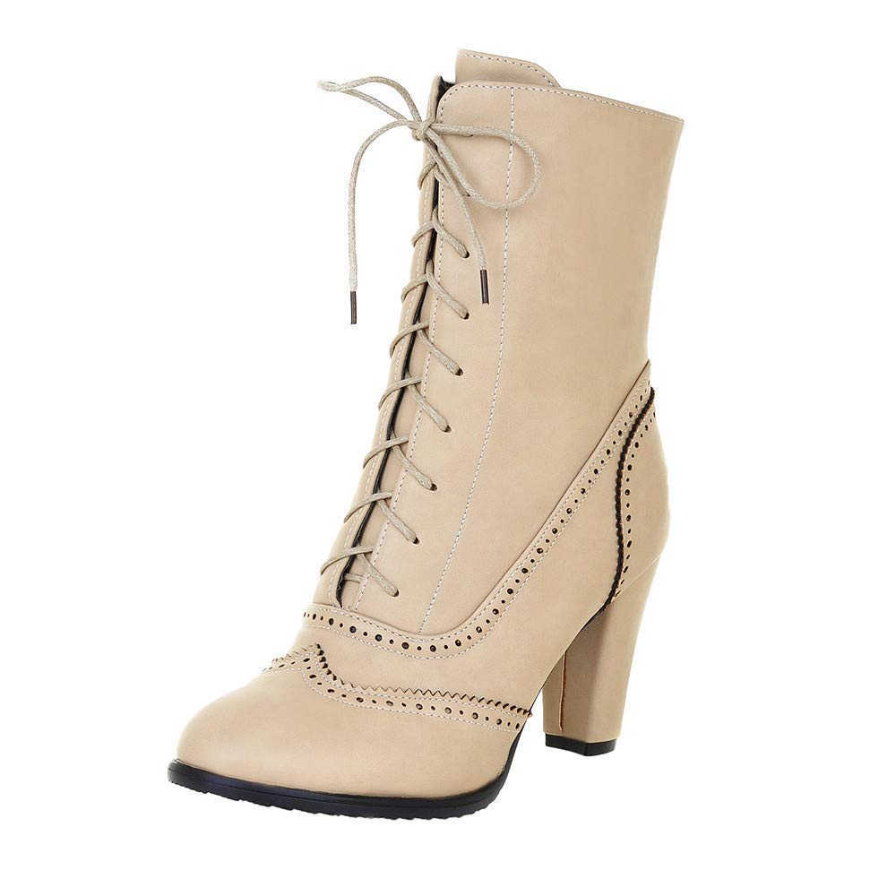 HAINE , Damen Chelsea Stiefel, Beige - beige - Größe  41 1 3 EU