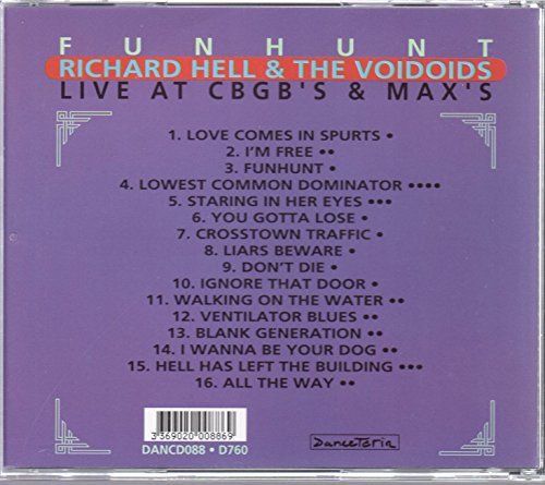 Funhunt: Live at  CBGB's & Max's by Danceteria (Image #1)