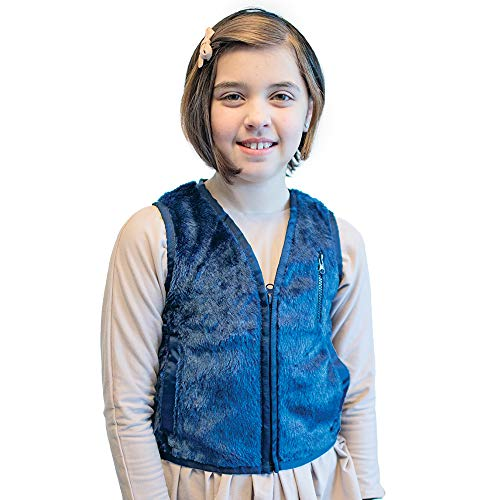 Fun and Function's Weighted Faux Fur Vest - Helps With Mood & Attention, Sensory Over Responding, Sensory Seeking, Travel Issues]()
