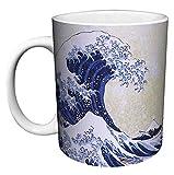 Katsushika Hokusai The Great Wave Japanese Fine Art Ceramic Gift Coffee ...