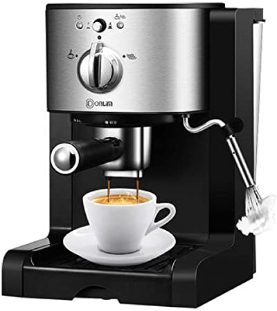 SYSWJ Cafetera Máquina De Café Espresso Cápsula Comercial Semiautomática Para El Hogar Tres En Uno, A: Amazon.es: Hogar