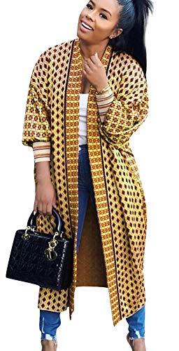 Long Cardigan for Women Lightweight Open Front Jacket Coat Outwear