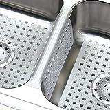 Kitchen Sink Protector Mat Pad Set, 3 Piece Combo
