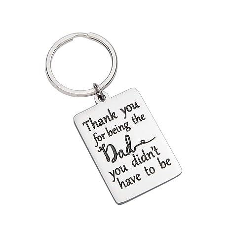 Amazon.com: Llavero de regalo para padrastros, padrastros ...