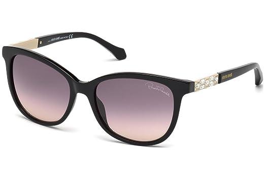 Amazon.com: anteojos de sol Roberto Cavalli Merak RC 904s ...