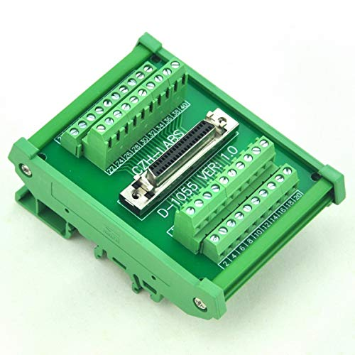 Electronics-Salon DIN Rail Mount 40-pin Half-Pitch/0.05