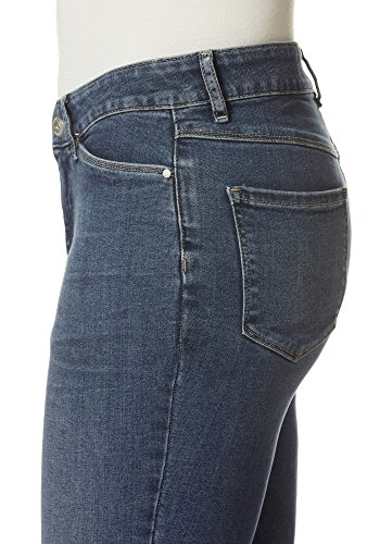 Stooker Slim 7367 Femme Medium Blue bleu Jeans Jeans qrw1Sxqz