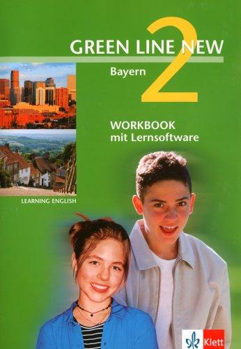 Green Line New - Ausgabe Bayern. Englisches Unterrichtswerk für Gymnasien / Teil 2 (2. Lehrjahr): Workbook mit Lernsoftware