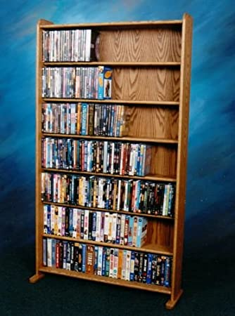 CD Racks The Wood Shed 707 3 DVD Storage Cabinet   Unfinished