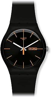 Armbanduhr swatch  Swatch Herren-Armbanduhr Analog Quarz Silikon SUOB714: Amazon.de ...