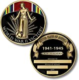World War II Victory Medal Coin - Engravable Challenge Coin