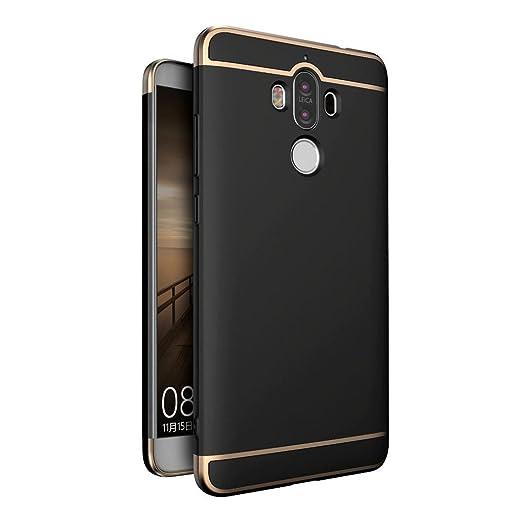 6 opinioni per Cover Huawei Mate 9 Custodia , Leathlux Placcatura PC Opaco Ultrasottile