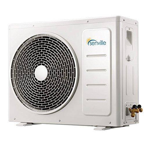 Senville SENA-24HF-Z 24000 BTU 20 SEER Split Air Conditioner and Heat Pump, Mini