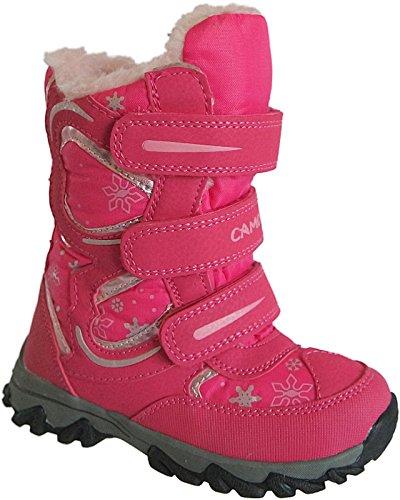 Mädchen Boots Kinder Winter Stiefel warm gefüttert gr.25-30 art.nr.5007 Fuchsia