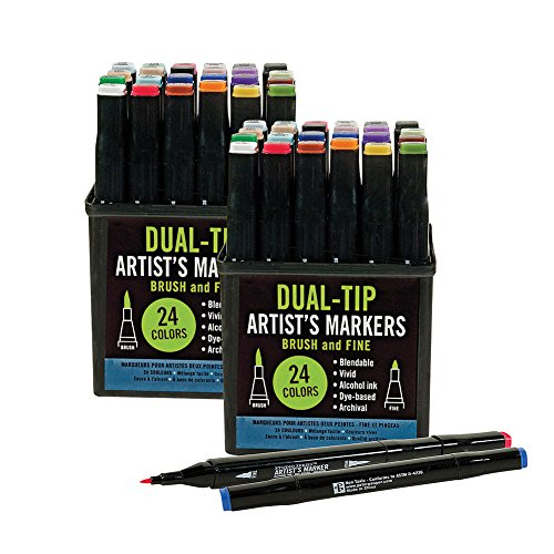 studio-series-professional-alcohol-dual-tip-markers-gift-set-of-two-24-packs