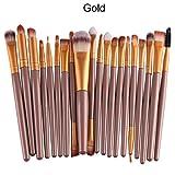 Susenstone®20 pcs/set Makeup Brush Set (Gold) by Susenstone®610
