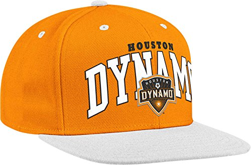 069c9ecd5ff adidas MLS Houston Dynamo Men s Name Two Tone Flat Brim Snapback Hat ...