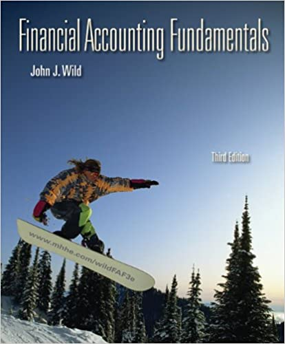 Financial accounting fundamentals john wild 9780073527048 amazon financial accounting fundamentals 3rd edition by john wild fandeluxe Gallery
