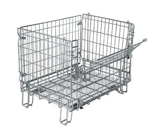Image of Cabinet & Drawer Organization Everest/Durastar - 15739EV Wire Container with Flat Pads, 33.75'W x 24'L x 26.25'H