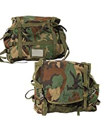 Sleep System Carrier Woodland Camo Previously Issued by US Military Surplus