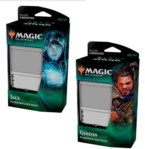 MTG Magic the Gathering War of The Spark - Both Planeswalker Decks!