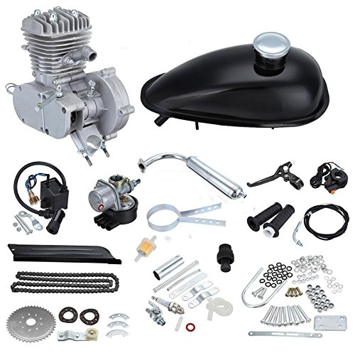 98922a101c6 Euroeshop Silver Engine A 80cc Push Bike Bicycle Motorized 2Stroke Cycle  Silver Motor Kit - Buy Online in Oman. | Automotive Products in Oman - See  Prices, ...