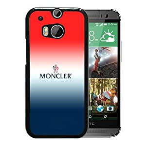 Fashionable And Unique Designed Case For HTC ONE M8 With Moncler 10 Black Phone Case