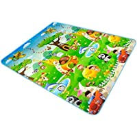 Eselpro Single Side Baby Play & Crawl Mat (6 Ft X 6.5 Ft) Print May Vary