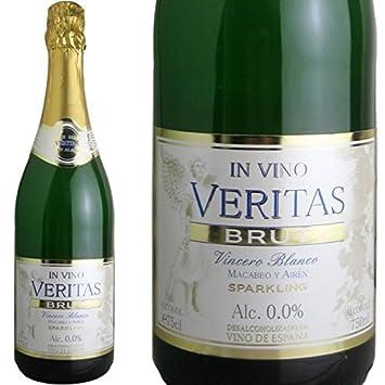 Invino-Veritas Brut Blanco non-alcoholic sparkling wine Spanish non-alcoholic