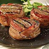Omaha Steaks 10 (5 oz.) Bacon-Wrapped Filet Mignons