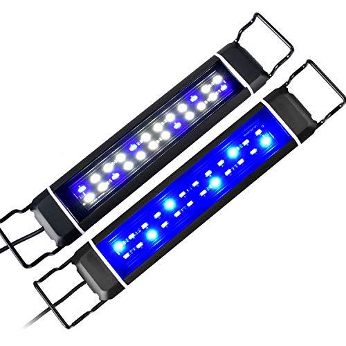 KZKR Upgraded Aquarium Light 11 to 78 inch Full Spectrum Fish Tank Light Adjustable Remote Control Hood Lamp Lighting…