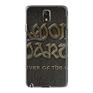 Protective Hard Phone Covers For Samsung Galaxy Note3 With Customized Beautiful Amon Amarth Band Pictures MarieFrancePitre