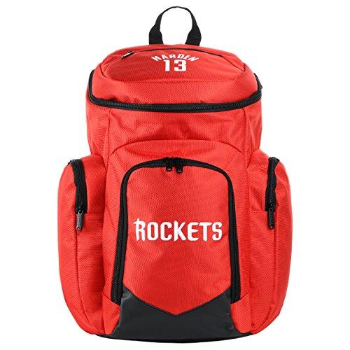 fan products of NBA Houston Rocketsharden J. #13 Traveler Backpack, Houston Rockets, One Size