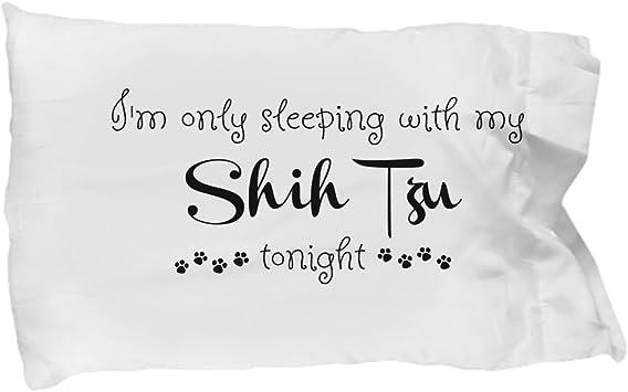 Shih Tzu Mom Shih Tzu Pillowcase Doggo Mom Doggo Gifts Shih Tzu Pillow Shih Tzu Dog Pillow Case Dog Gift for Owners Gifts for Dog Sitters