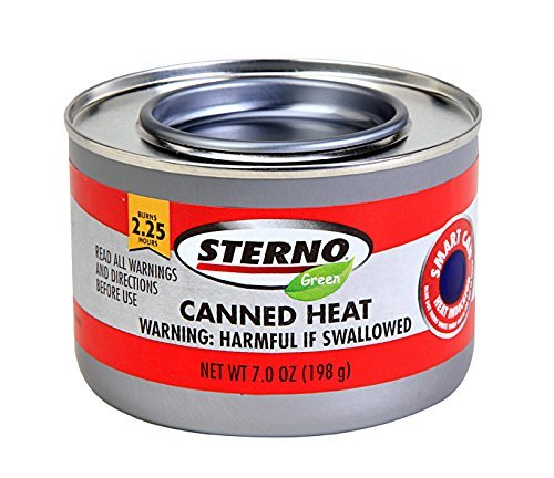 Sterno IUYEHDUH 20504 7-Ounce Entertainment Cooking Fuel, 6-Pack of 2 Pack by Sterno (Image #2)
