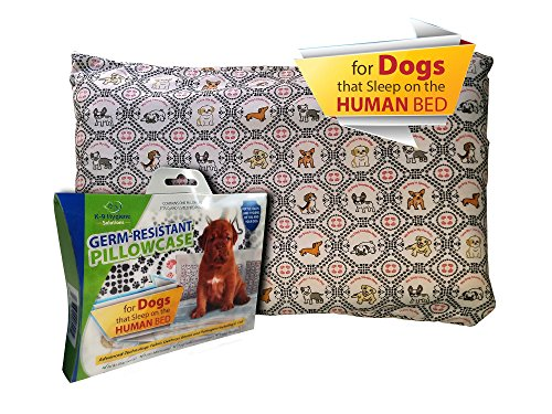 K-9 Hygiene Solutions Germ-Resistant Pillowcase for Dogs That Sleep ON The Human Bed