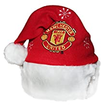 Manchester United Novelty Christmas Santa Hat (One Size) (Red)