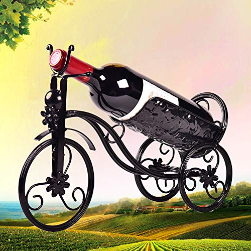 - WEHOLY Bicycle Wine Bottle Holder Champagne Wine Rack for Christmas Wedding Party Dinner Table Decor Motorbike Metal Wine Bottle Holder Magic Innovations Floating Illusion Rack Stand