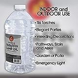 Ner Mitzvah Paraffin Lamp Oil - 3 Liter - Clear