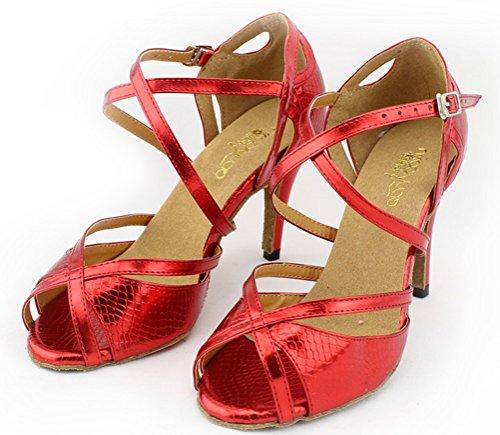 CFP - danza moderna mujer Rojo - rojo