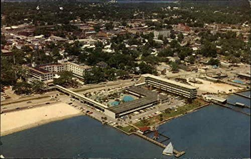 The Buena Vista Hotel And Motel Biloxi Mississippi Ms Original