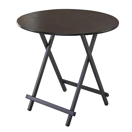 mesa plegable Fzw Mesa de Comedor para el hogar Base de Madera ...