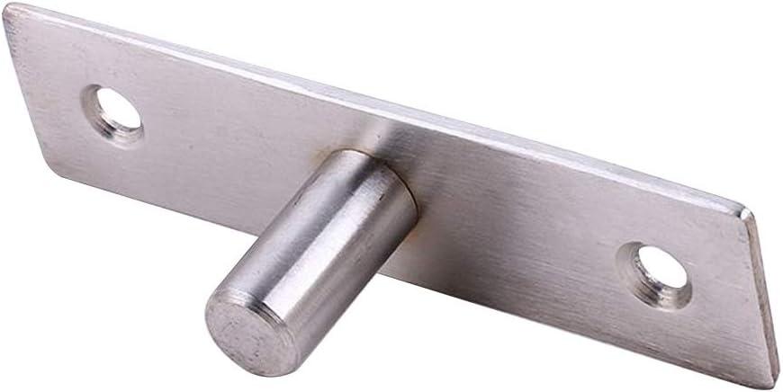 Tope de pared para puerta corredera de acero inoxidable: Amazon.es: Hogar