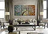 YaSheng Art - 28x20inchx3 Hand Painted 3 Panels