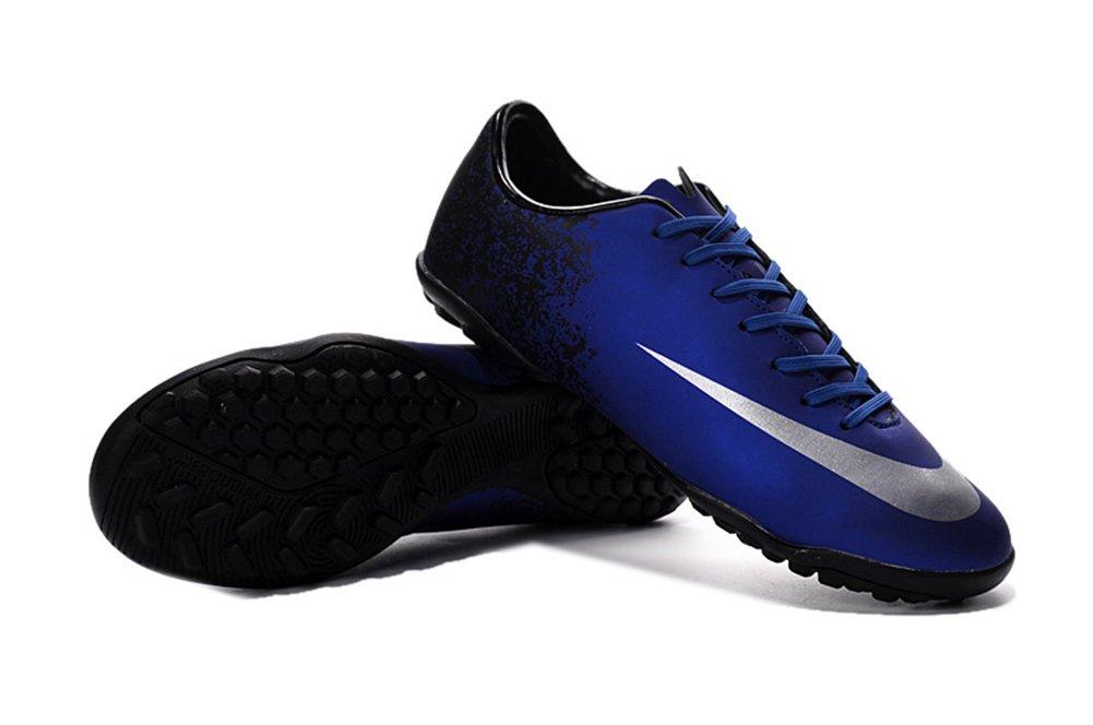 Yurmery Schuhe Herren Royal Blau Fußball Mercurial Victory V TF Fußball Stiefel