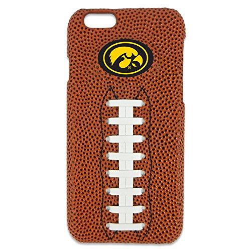 GameWear NCAA Iowa Hawkeyes Classic Football iPhone 6 Case, Brown (Iowa Football Brown Hawkeyes)