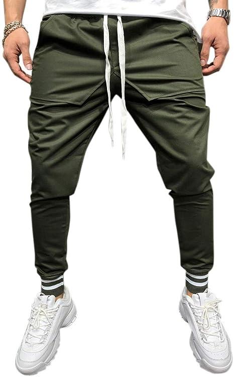 Pantalones De Hombre Pantalon Urbano De Hip Hop Pantalones Casuales Pantalones Deportivos Pantalones Deportivos Amazon Es Hogar